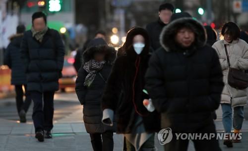 统计:首尔今冬酷寒天数仅1天同比骤减