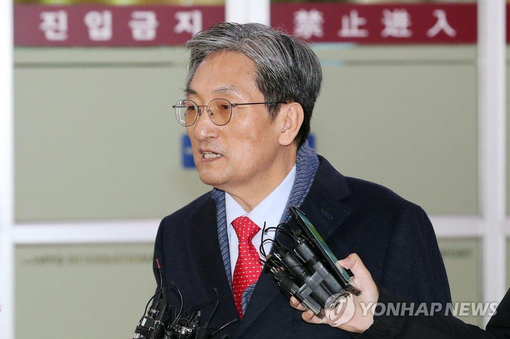 韩青瓦台候任幕僚长回国 因金正恩访华推迟行程