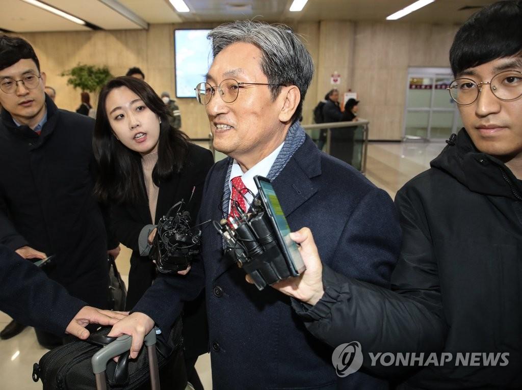 韩外交部:驻华大使回国不影响外交工作