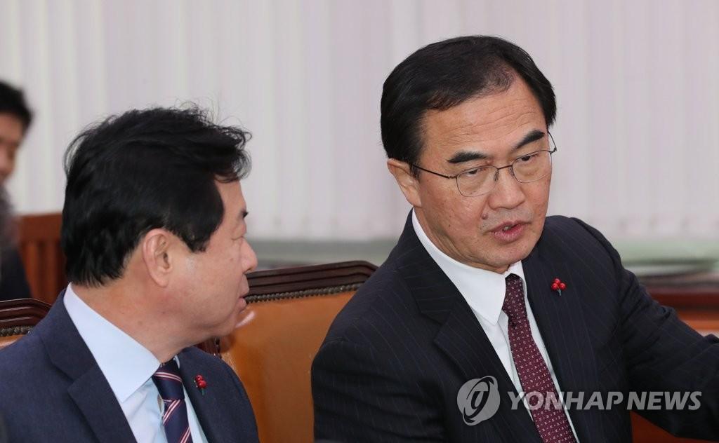 韩统一部:韩朝就金正恩访华事先有沟通
