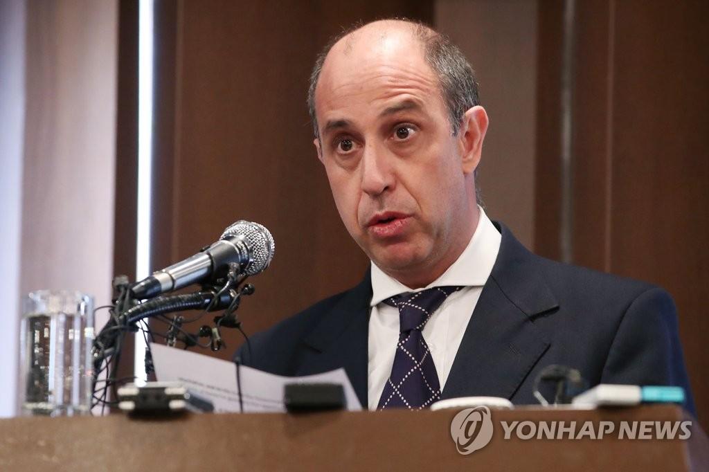 韩高官会晤联合国朝鲜人权报告员