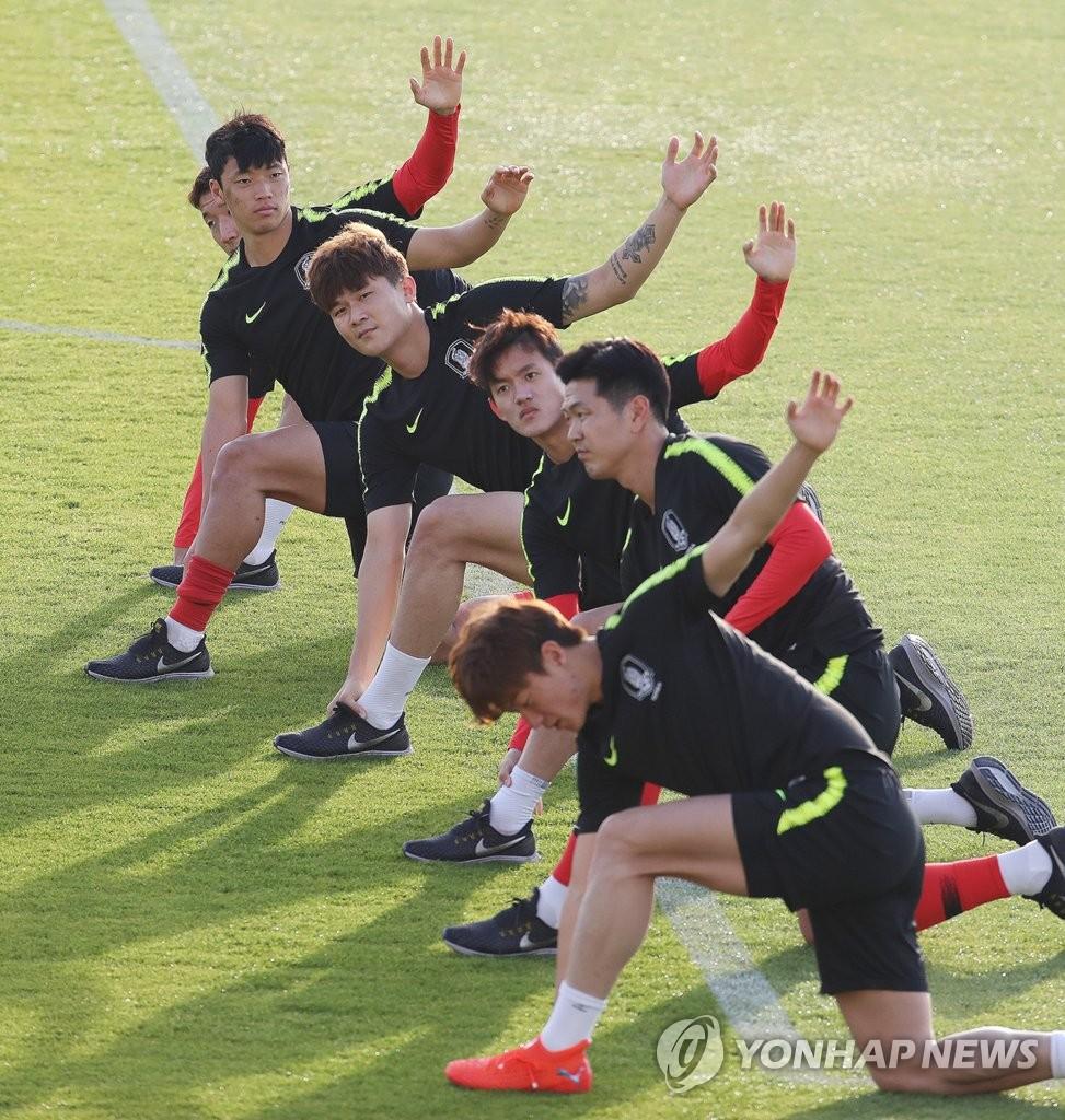 训练备战亚洲杯