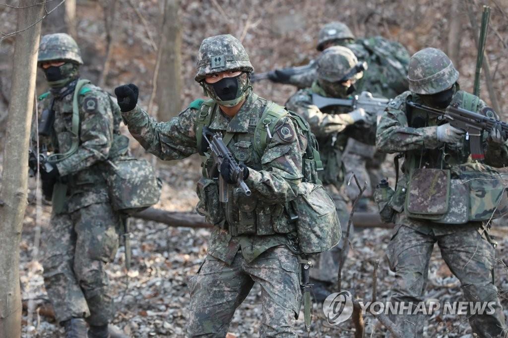 朝媒谴责韩军进行军事训练