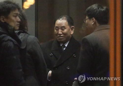 朝鲜高官金英哲离京赴美