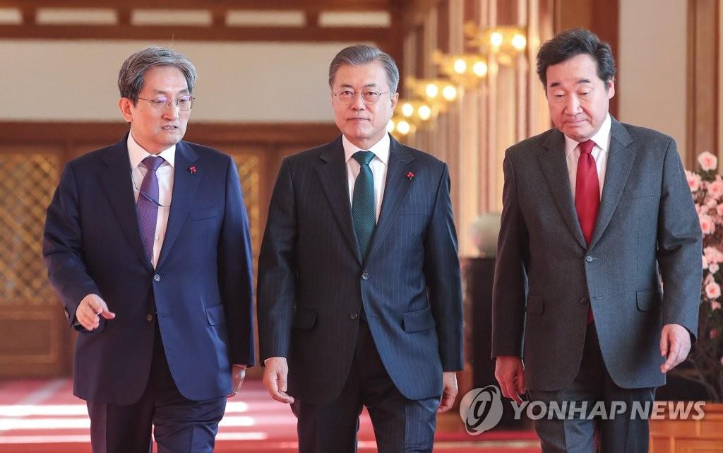 韩青瓦台秘书将减少对总统当面汇报