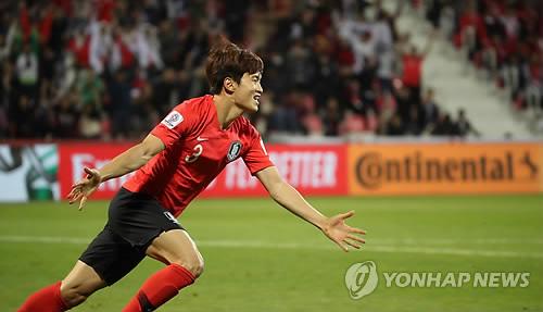亚洲杯:韩国2比1险胜巴林进八强