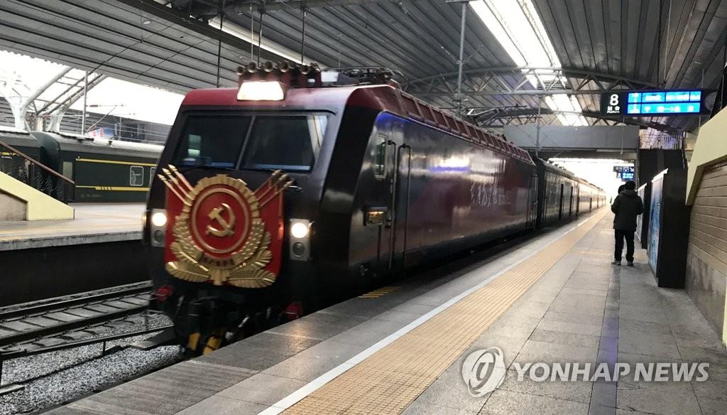 朝鲜艺术团抵京对中国进行访问演出