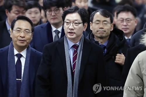 韩地方大员刷帖获刑当庭被捕