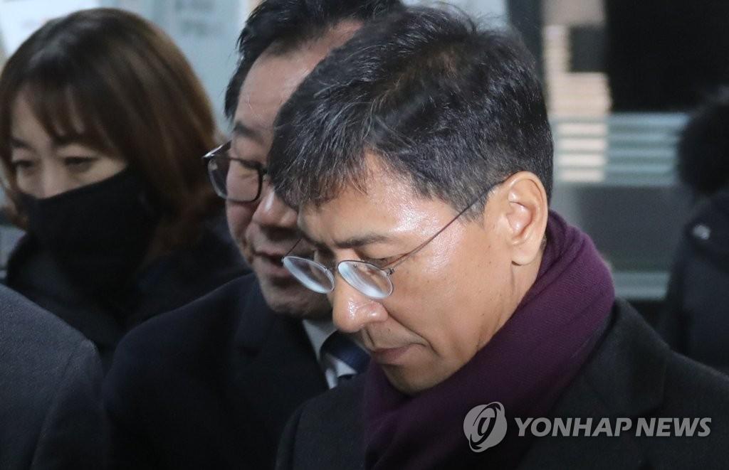 韩政客性侵女秘二审被判有罪当庭被捕