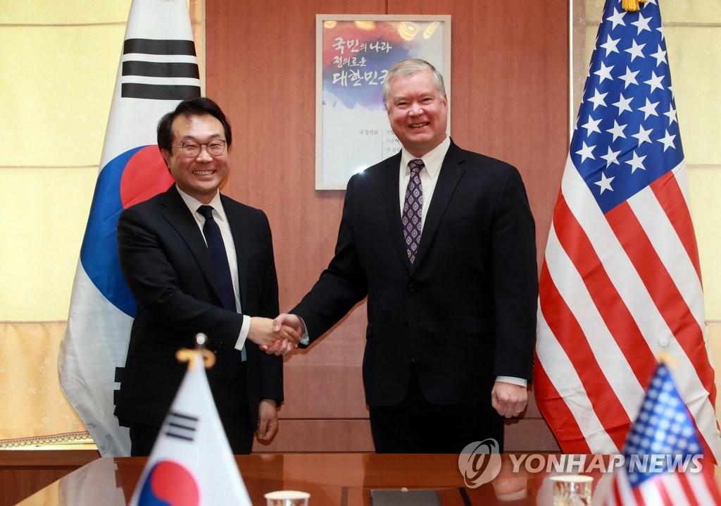 韩美对朝代表商议金特会后续措施