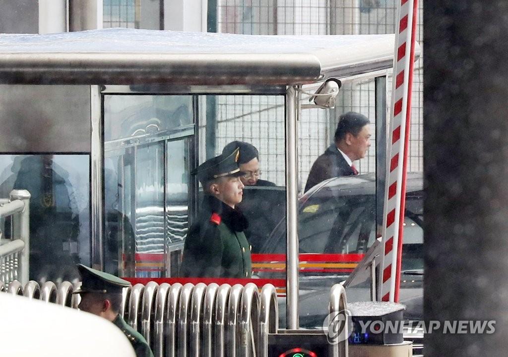 越南外长结束访朝之行启程回国