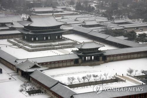 景福宫雪景