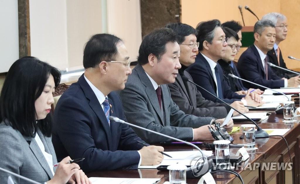 韩总理呼吁韩中联手治霾