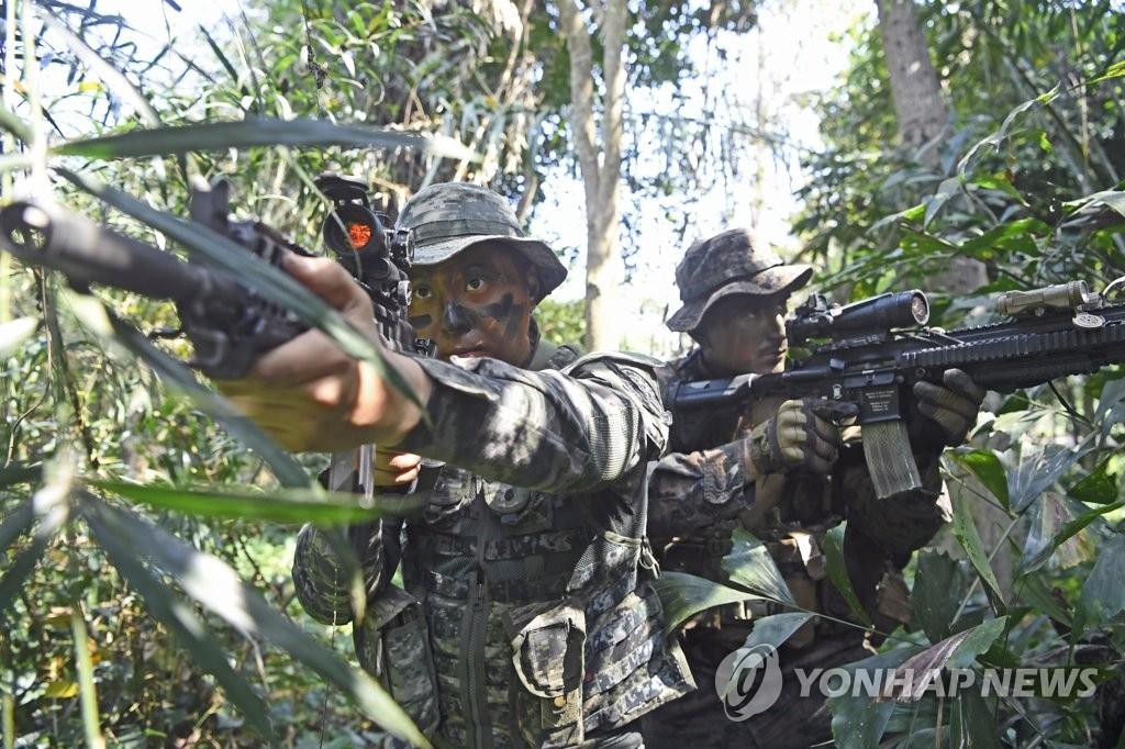 韩军暂定缩减金色眼镜蛇联演参演规模