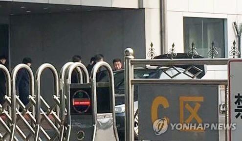 朝鲜对美代表抵京