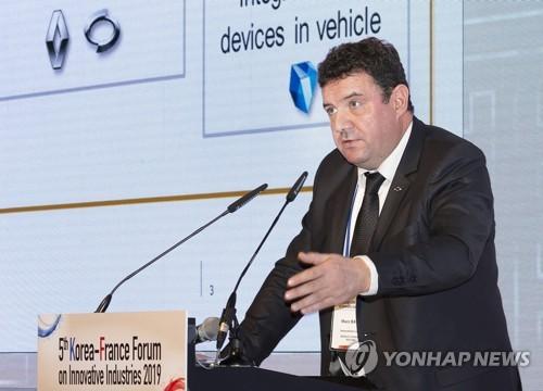 韩法共同研发无人驾驶汽车