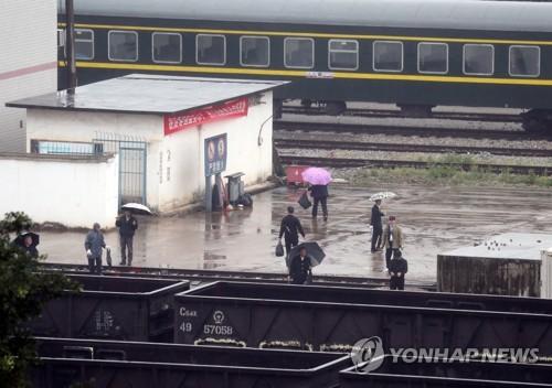 俄媒报道金正恩乘专列从平壤出发前往越南