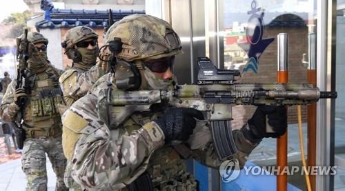 """韩军下周首次实施""""乙支太极""""民官军联演"""