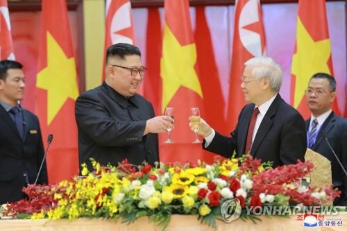 金正恩致电越南主席祝贺越南国庆75周年