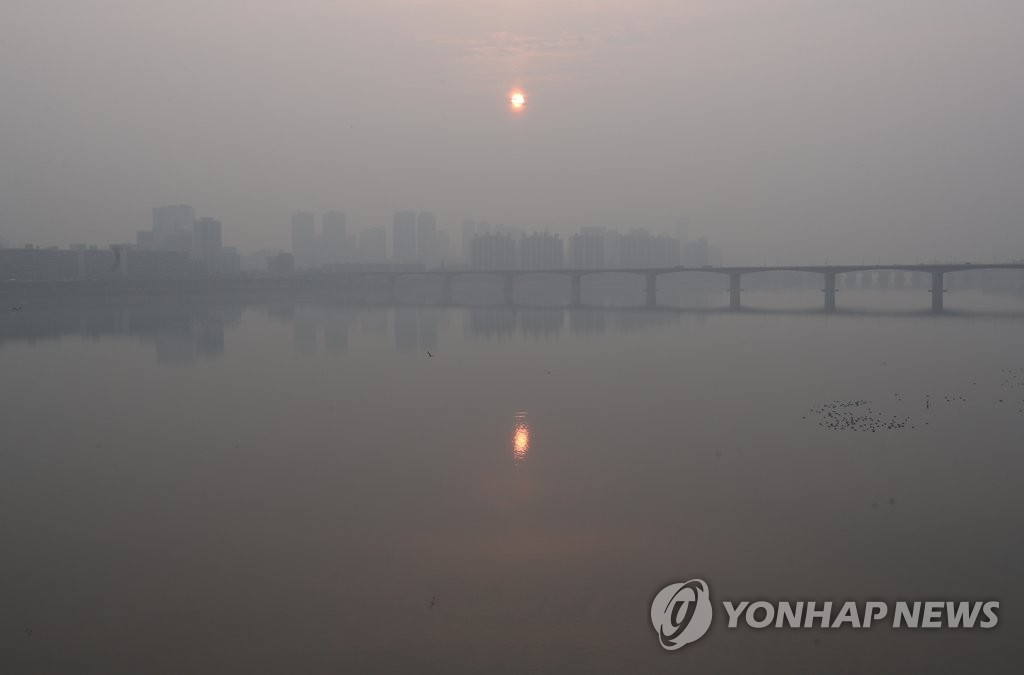 韩国研究机构:不利气象条件致雾霾严重