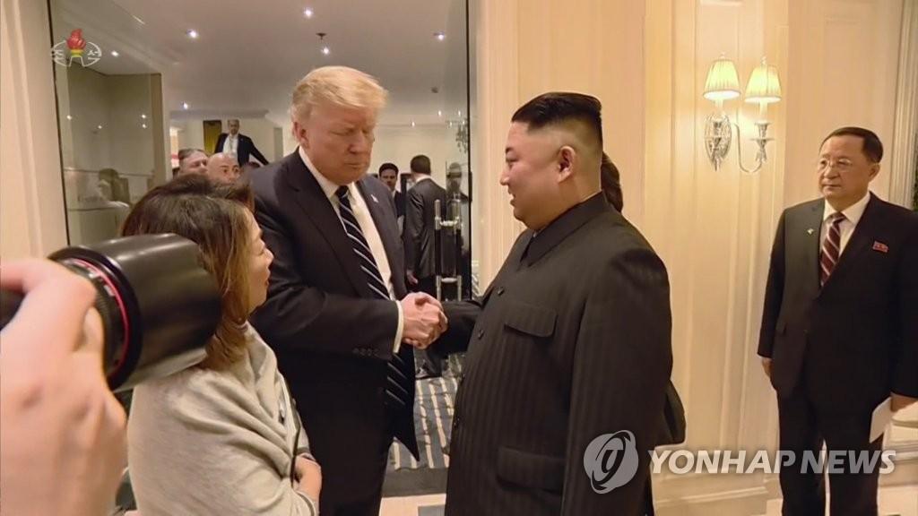 朝媒播放金正恩访越纪录片