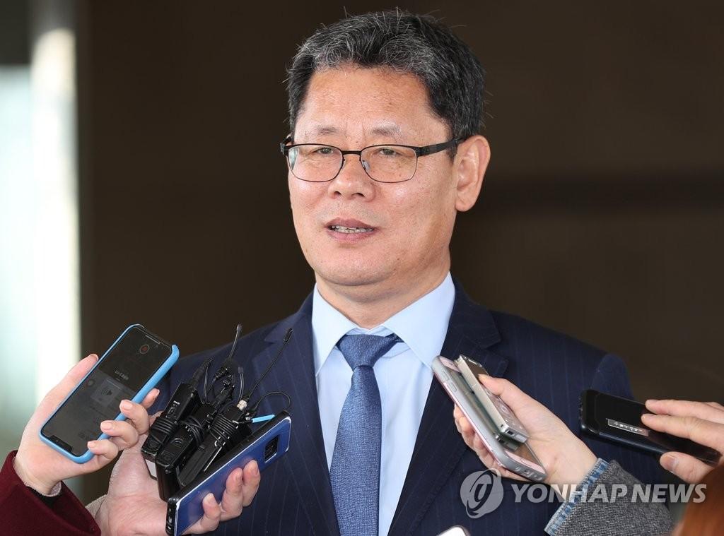 韩国统一部长官提名人金炼铁(韩联社)