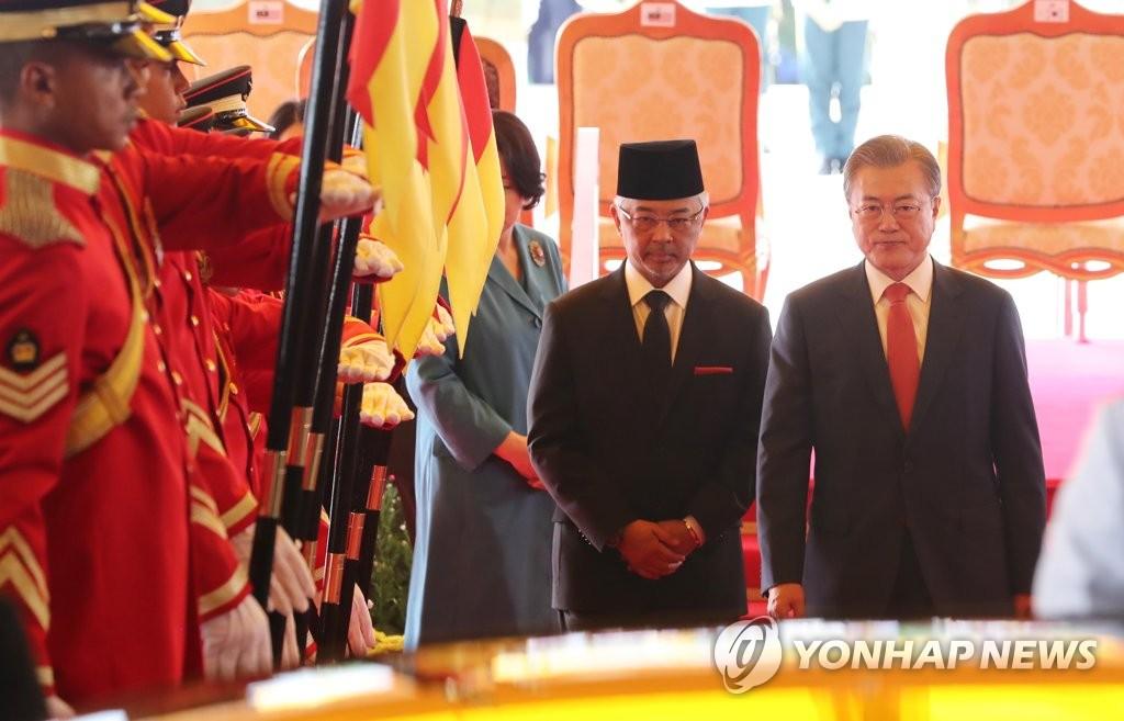 韩马领导人互致贺信庆祝建交60周年