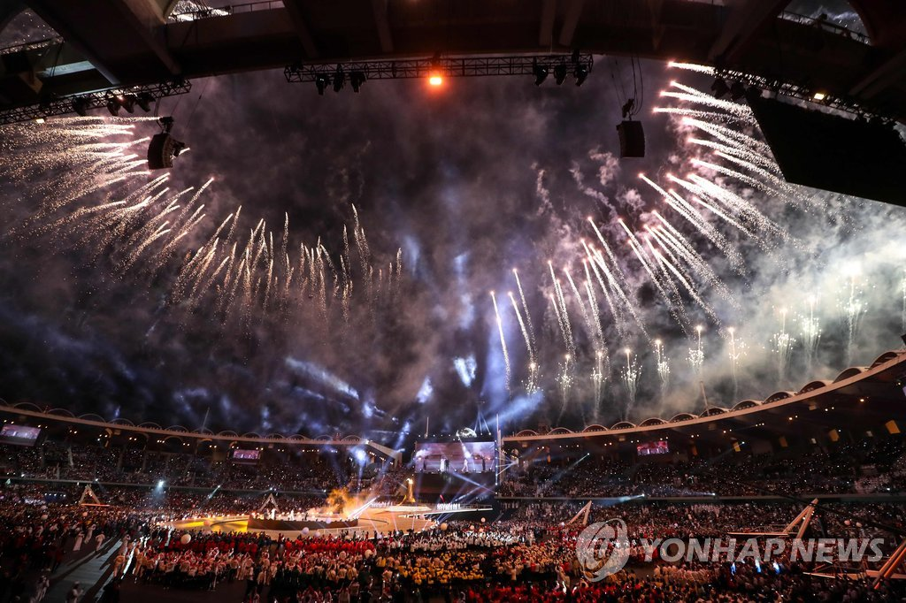 阿布扎比特奥会:韩国代表团夺120枚奖牌