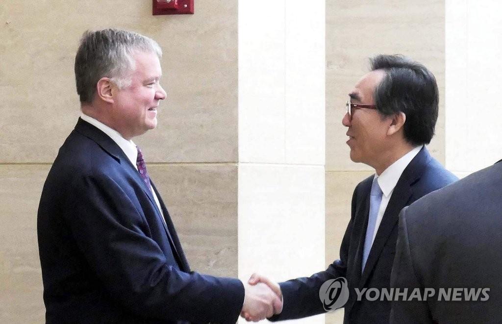 韩常驻联合国代表会见美对朝代表