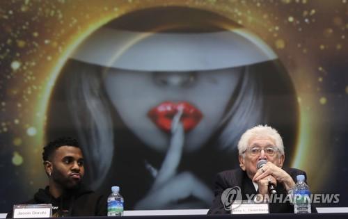 杰森·德鲁罗访韩宣传MJ纪念曲