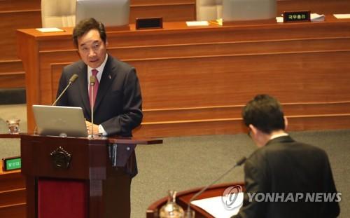 韩总理:尚未准备向朝派特使或开文金会