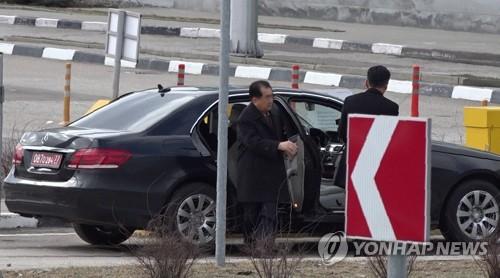 朝鲜高官赴海参崴
