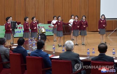 朝鲜举行世界结核日宣传活动