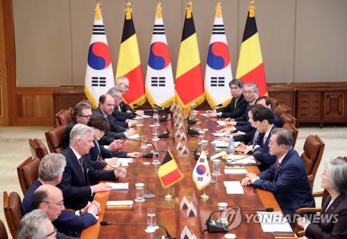 韩-比利时首脑会谈