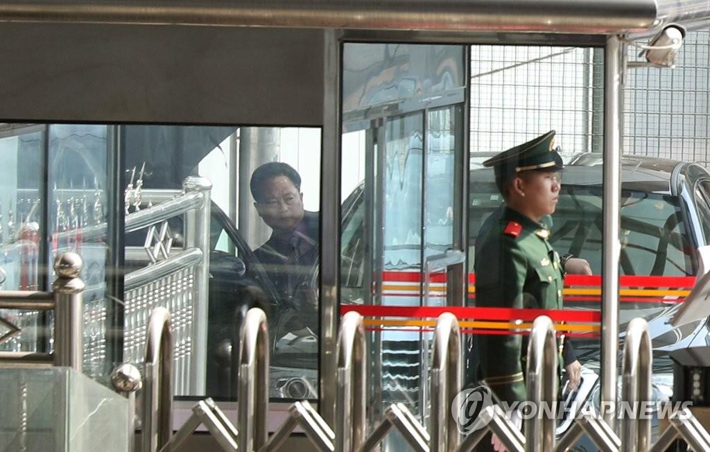 朝鲜高官现身北京机场