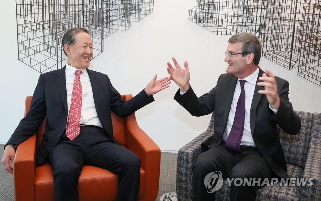 韩国-比利时商务论坛在首尔举行
