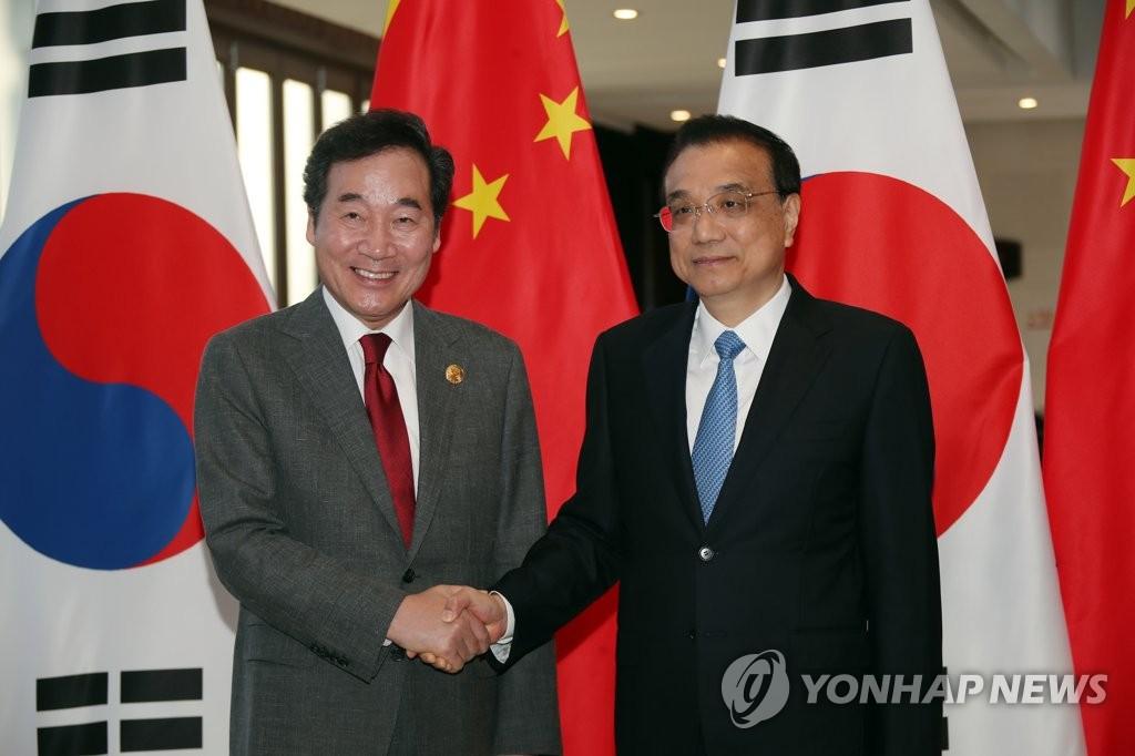 韩中总理商定加强两国治霾合作