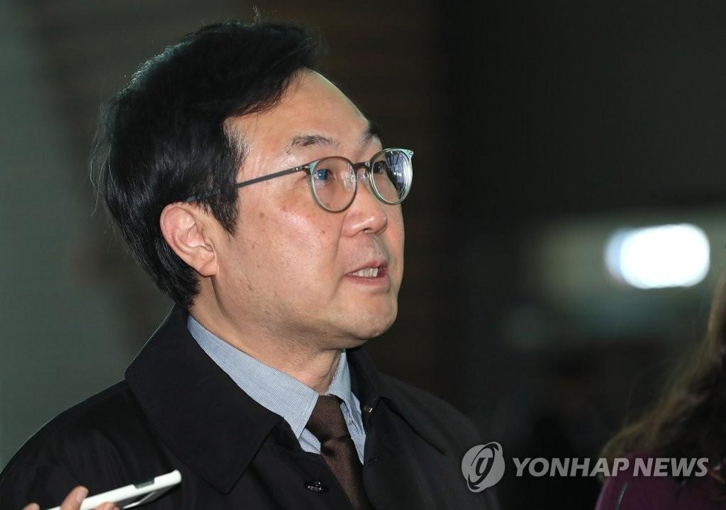 韩国对朝代表李度勋启程访美