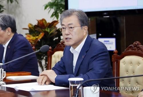 文在寅呼吁朝鲜响应韩美号召重启对话