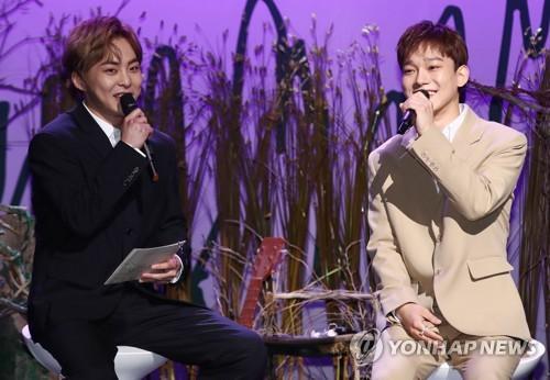 EXO主唱CHEN:望以深情歌声触动心灵