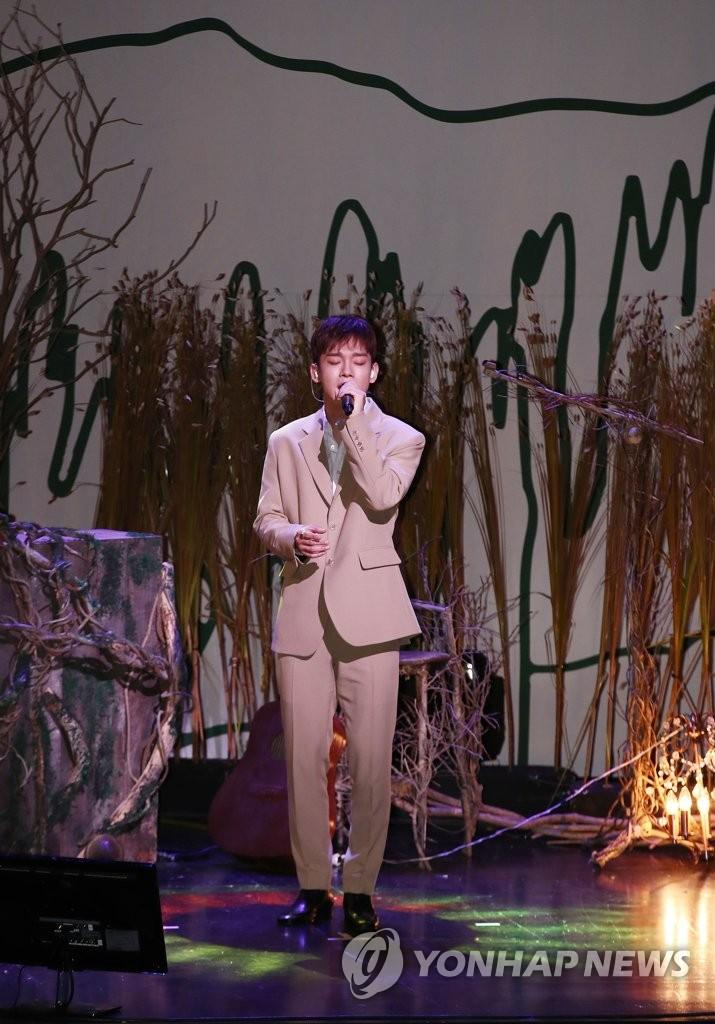 EXO主唱CHEN(韩联社)