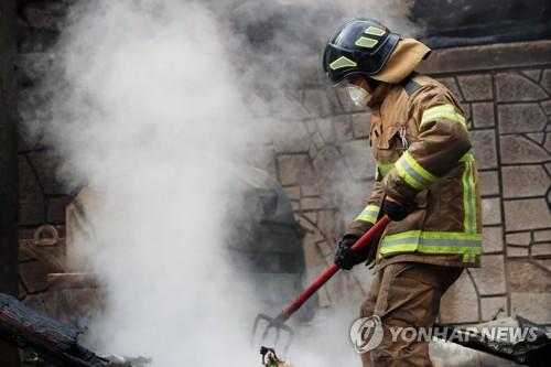 调查:近八成韩国人赞成消防员转国家编制