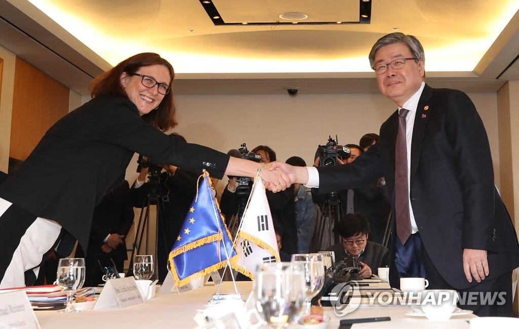 欧盟呼吁韩国就批准国际劳工公约拿出实质成果