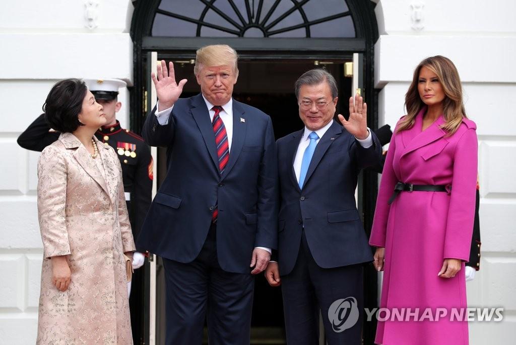详讯:韩美领导人举行会谈共商半岛无核化