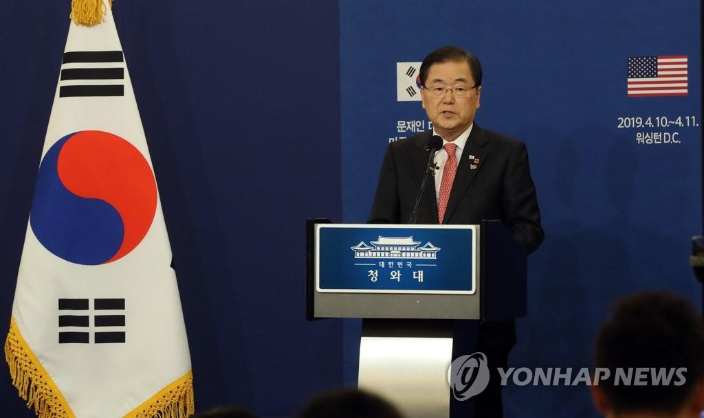 韩国国安常委会讨论韩美发展互惠同盟