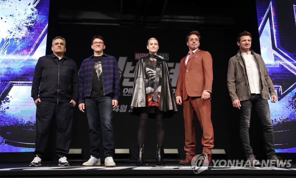 漫威超级英雄访韩