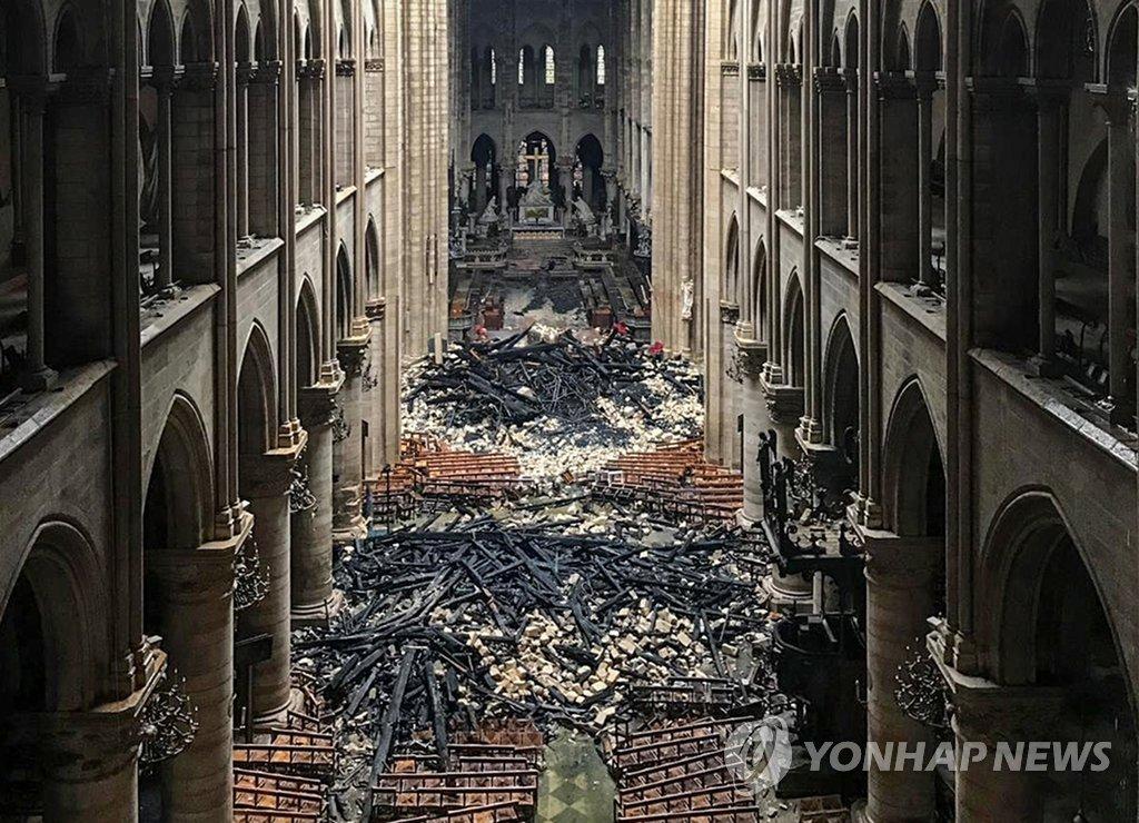 韩国文体部就巴黎圣母院火灾向法国致慰问函