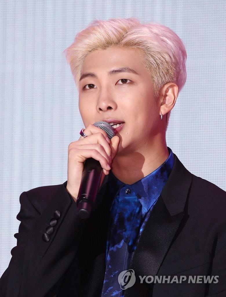 队长RM(韩联社)