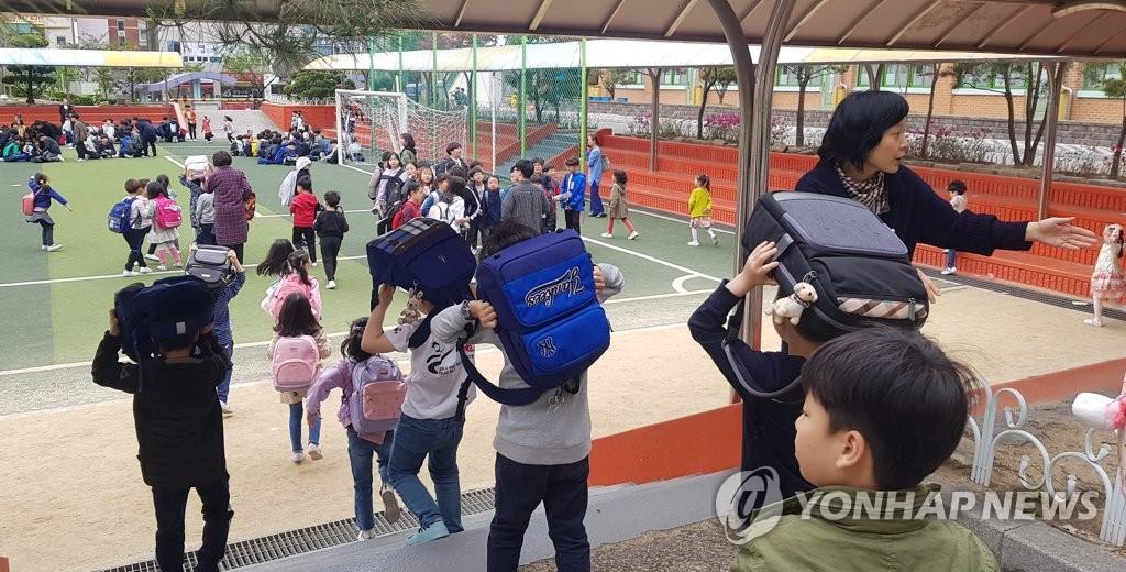 韩国气象厅:2019年境内共发生88次2级以上地震