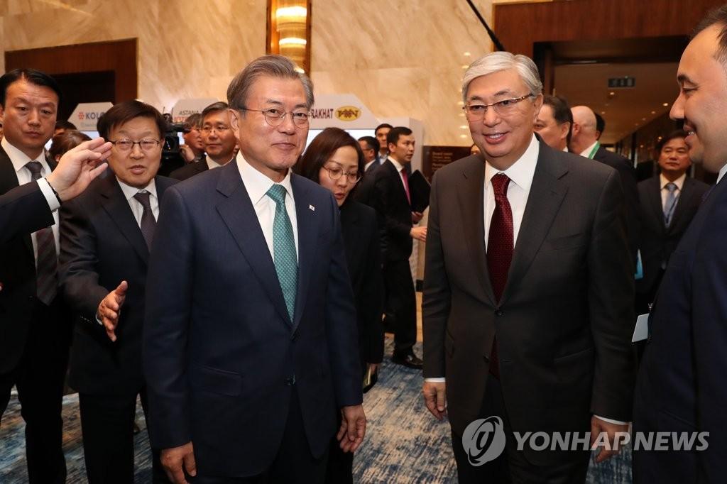 韩青瓦台:哈萨克斯坦总统因疫情推迟访韩